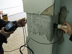 Экспертиза стен здания