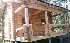 Конструкции деревянного сруба