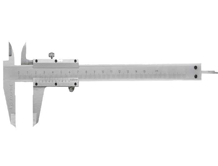TOPEX Штангенциркуль, 150 мм 31C615