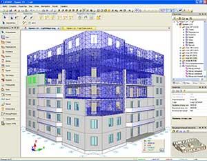 3D моделирование конструкций зданий