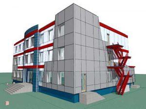 Пример проекта здания