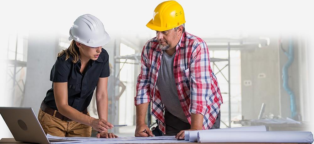 Выезд инженера на объект строительства