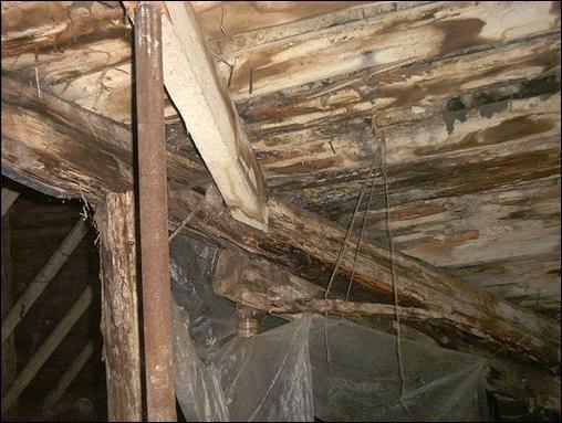 Техническое обследование деревянных конструкций зданий и сооружений
