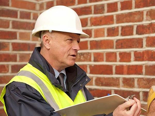 обследование стен здания