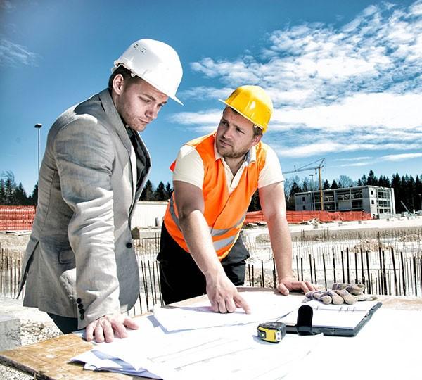 Услуги инженеров строительства