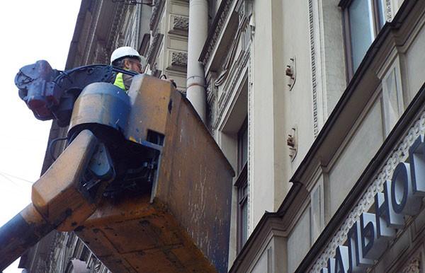 Техническое обследование фасада здания