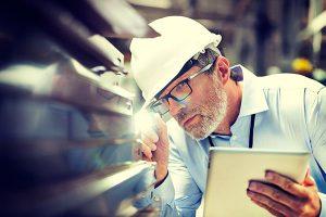 Исследование строительного материала на строительном объекте