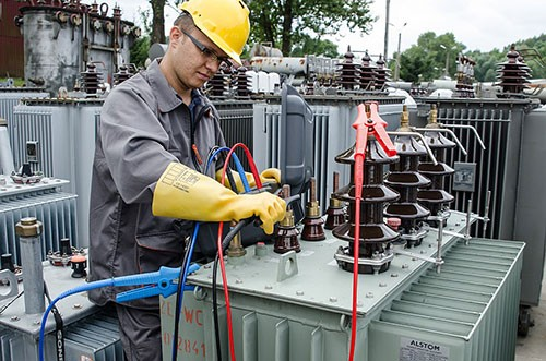 Электроиспытания установок