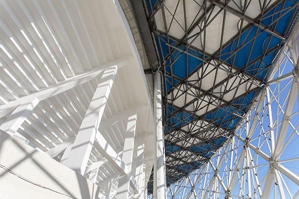 Обследование конструкций стадиона