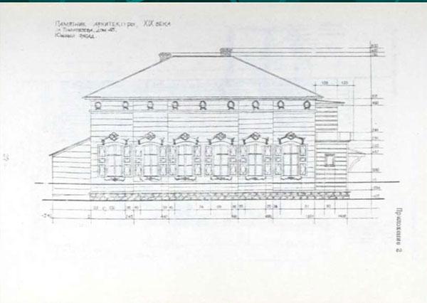Обмерные чертежи здания