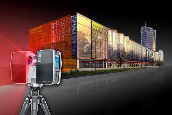 Сканирование зданий лазером