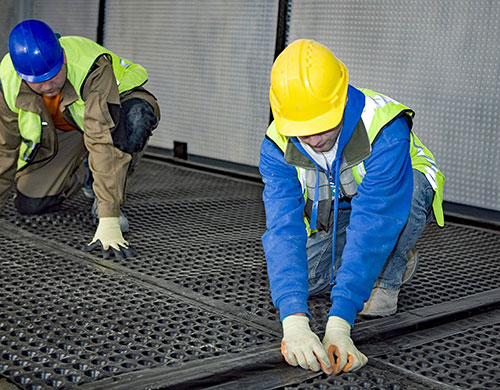 Обследование гидроизоляции бетона
